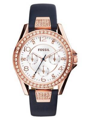 Fossil Riley Multifunction Crystal Quartz ES3887 Women's Watch