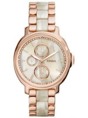 Fossil Chelsey Quartz Rose Gold Stainless Steel ES3890 Women's Watch