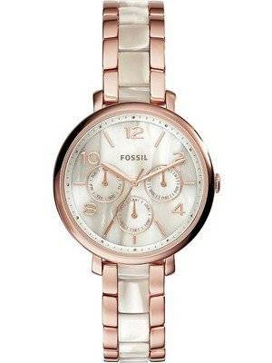 Fossil Jacqueline Multifunction Chronograph Stainless Steel ES3921 Women's Watch