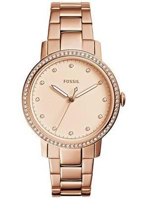 Fossil Neely Quartz Diamond Accent ES4288 Women's Watch
