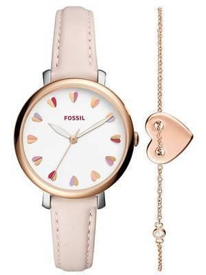Fossil Jacqueline Quartz Jewellery Set ES4351SET Women's Watch
