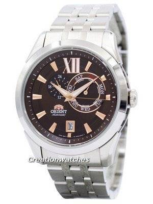 Orient Sporty Automatic Brown Dial ET0X003T Men's Watch