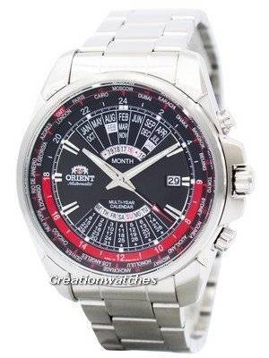 Orient Automatic Multi Year Calendar World Time EU0B001B Men's Watch