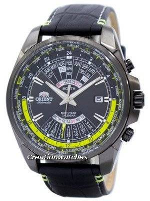 Orient Automatic Multi Year Calendar World Time EU0B005B Men's Watch