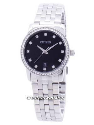 Citizen Quartz Diamond Accent EU6030-56E Women's Watch