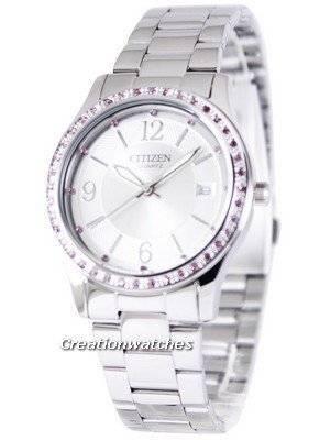 Citizen Quartz Pink Swarovski Elements EV0040-59A Women's Watch