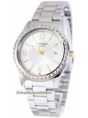 Citizen Quartz Swarovski Elements EV0044-58A Women's Watch