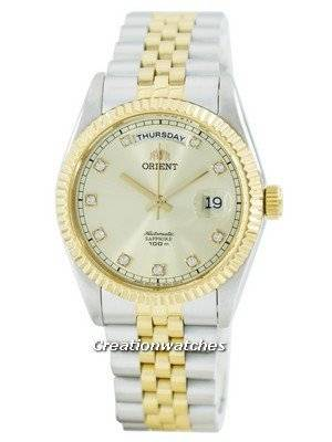 Orient Leader 'President' Automatic Sapphire Crystal Accent FEV0J002CY EV0J002C Men's Watch