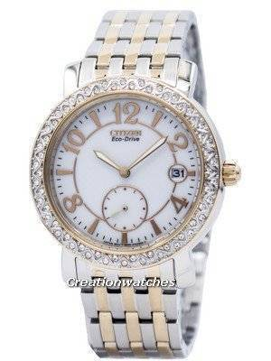 Citizen Eco-Drive Swarovski Crystal Accents EV1016-58A Women's Watch