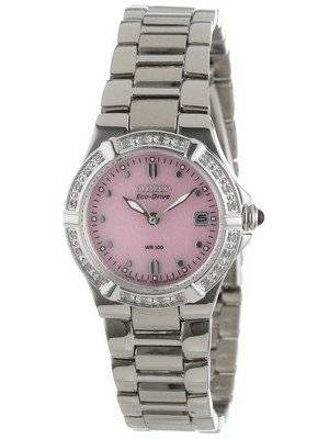 Citizen Eco-Drive Riva Diamond Accented EW0890-58X Women's Watch