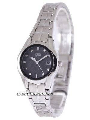 Citizen Eco-Drive Black Dial EW1410-50E Women's Watch