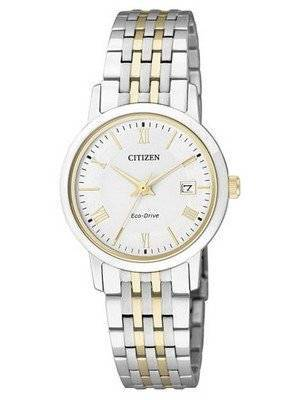 Citizen Eco-Drive Sapphire Crystal EW1584-59A Ladies Watch