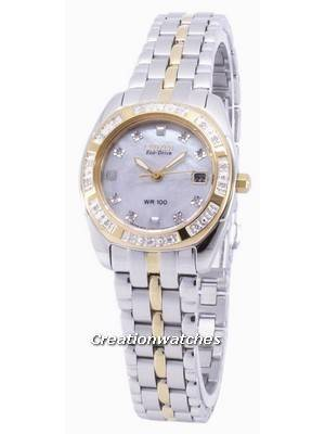 Citizen Paladion Eco-Drive Diamond Accents EW1594-55D Women's Watch
