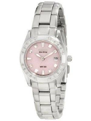 Citizen Susan G. Komen Eco-Drive Diamond Accented EW1820-58X Women's Watch