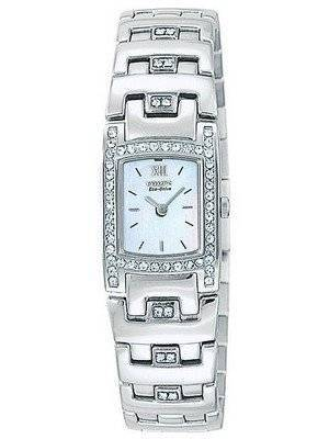 Citizen Silhouette Eco-Drive Swarovski Crystal EW8140-54N Women's Watch