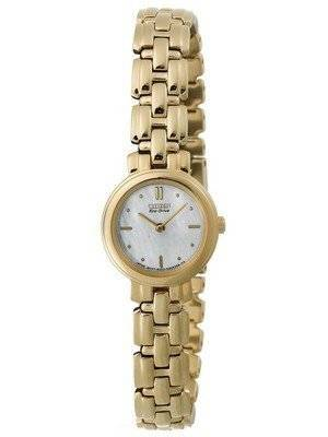 Citizen Eco-Drive Silhouette Gold-Tone EW9132-57D Women's Watch