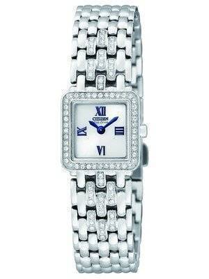 Citizen Eco-Drive Swarovski Crystal EW9790-53A Women's Watch