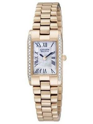 Citizen Eco-Drive Silhouette Crystal EW9813-50D EW9813 Ladies Watch