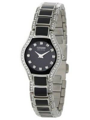 Citizen Eco-Drive Normandie Swarovski Crystal EW9870-56E Women's Watch