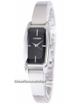 Citizen Analogue Quartz Black Dial EX0310-53E Women's Watch
