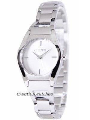 Citizen Quartz Analogue White Dial EX0320-50A Women's Watch