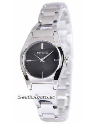 Citizen Quartz Analogue Black Dial EX0320-50E Women's Watch