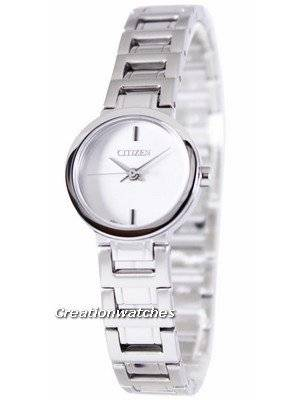 Citizen Analogue Quartz White Dial EX0330-56A Women's Watch
