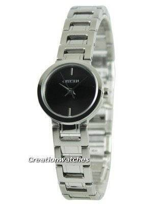 Citizen Quartz Black Dial EX0330-56E Women's Watch