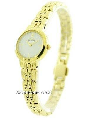 Citizen Eco-Drive Silhouette Gold Tone EX1092-57A Women's Watch