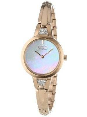Citizen Silhouette Eco-Drive Swarovski Crystal EX1153-54D Women's Watch