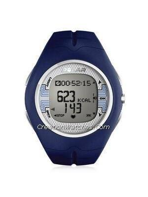 Polar Fitness Training Heart Rate Monitor Watch F7M F7 Blue