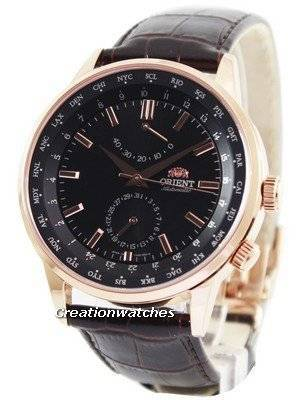 Orient Automatic 21 Jewels World Time Power Reserve FA06001B Men's Watch