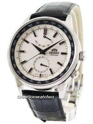 Orient Automatic 21 Jewels World Time Power Reserve FA06003Y Men's Watch