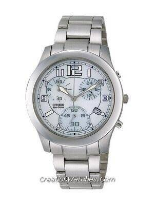 Citizen Ladies Eco-Drive Chronograph Watch FA2030-50C
