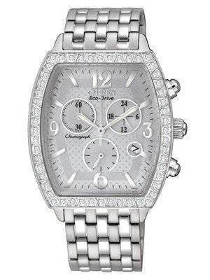 Citizen Eco-Drive Chronograph Swarovski Crystals FB1270-55A Women's Watch