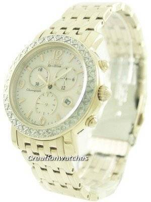 Citizen Eco-Drive Chronograph FB1293-50A Women's Watch
