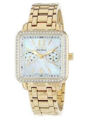 Citizen Eco-Drive Silhouette Crystal FD1042-57D Women's Watch