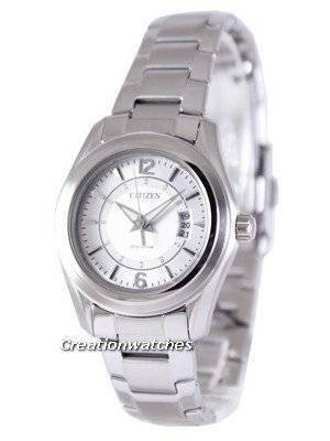 Citizen Eco-Drive Analog FE1010-57B Silver Dial Women's Watch