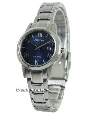 Citizen Eco-Drive Blue Dial FE1081-59L Women's Watch