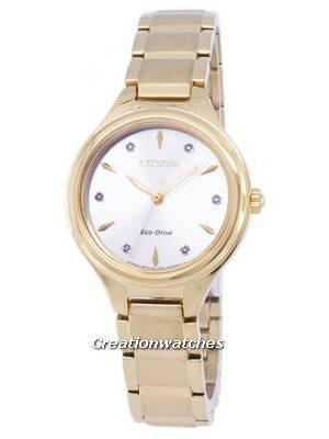 Citizen Corso Eco-Drive Diamond Accents FE2102-55A Women's Watch