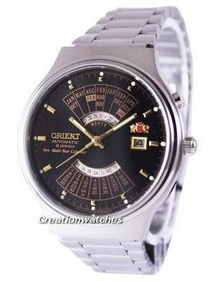 Orient Automatic 21 Jewels Multi Year Calendar FEU00002BW Men's Watch
