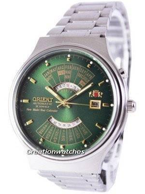 Orient Automatic 21 Jewels Multi Year Calendar FEU00002FW Men's Watch