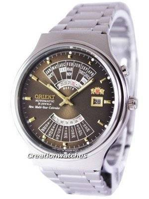 Orient Automatic 21 Jewels Multi Year Calendar FEU00002TW Men's Watch