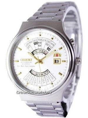 Orient Automatic 21 Jewels Multi Year Calendar FEU00002WW Men's Watch