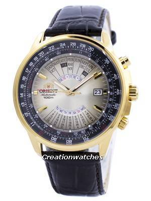 Orient Automatic Multi Year Calendar 100M FEU0700AUH Men's Watch