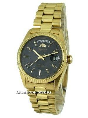 Orient Gold Tone 21 Jewels Automatic EV03002B