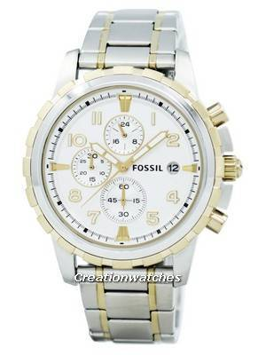 Fossil Dean Chronograph Two-Tone Stainless Steel FS4795 Men's Watch