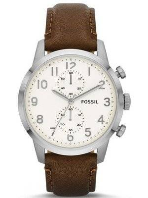 Fossil Townsman Chronograph Brown Leather FS4872 Men's Watch