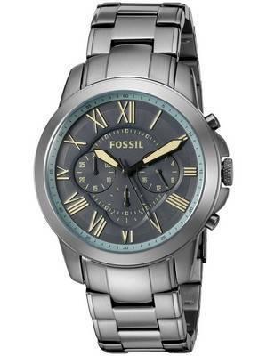 Fossil Grant Chronograph Quartz Gunmetal Dial FS5185 Men's Watch