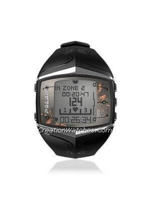 Polar Fitness Training Heart Rate Monitor Watch FT60F FT60 Black
